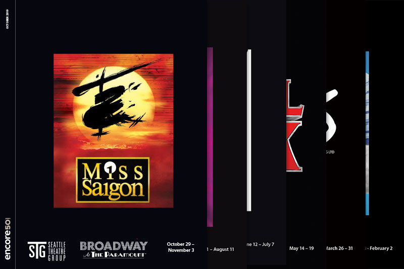 Broadway at the Paramount programs