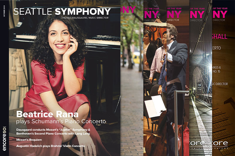 Seattle Symphony programs