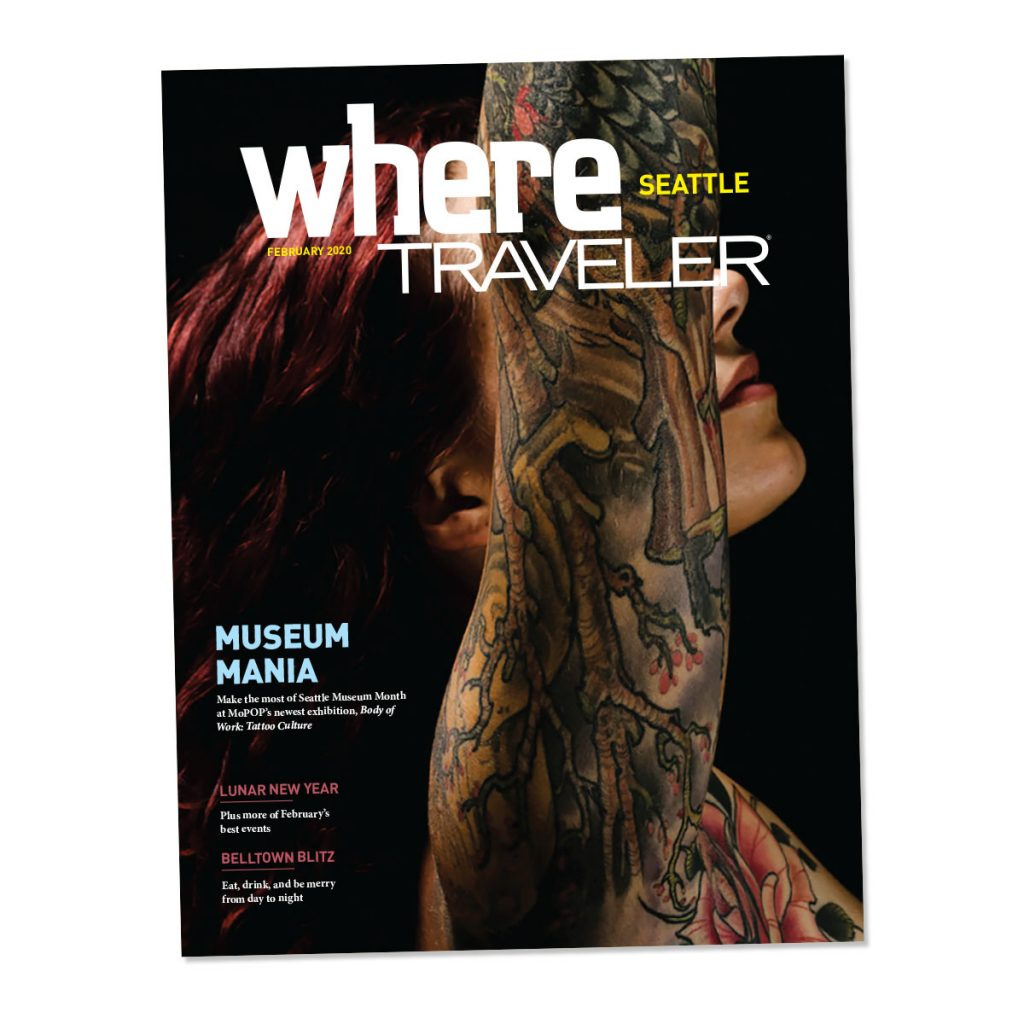 WhereTraveler Seattle magazine