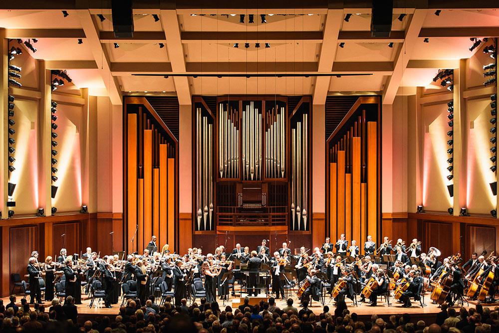 Seattle Symphony on stage
